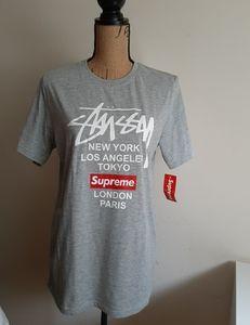 Stussy Crew Neck T-Shirt